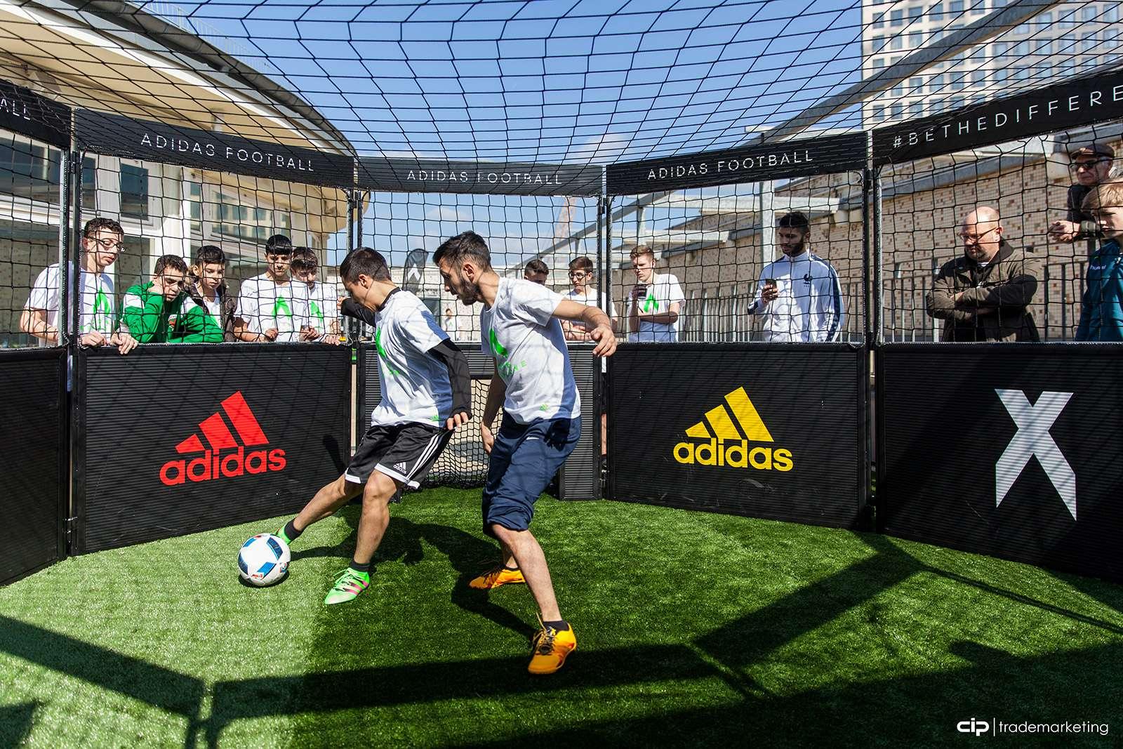 Soccer Cages do fabricante dos campos em miniatura originais da DFB